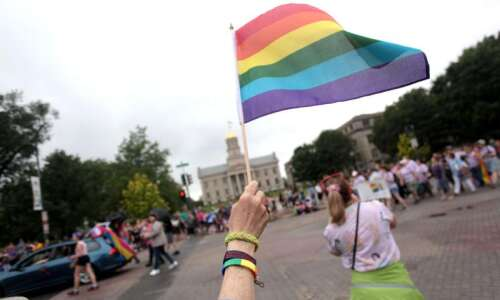 Iowa City Pride begins with unity march Saturday