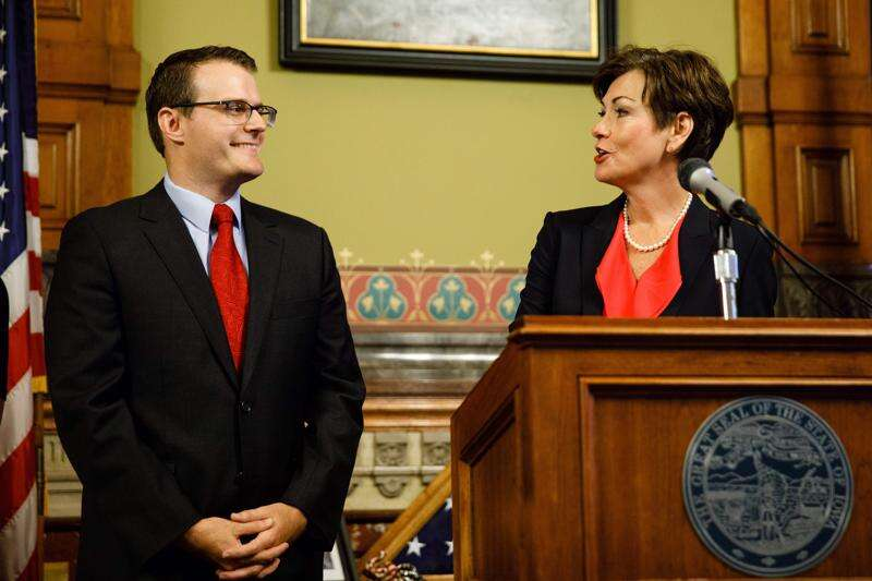 Iowa governor's salary unchanged for over a decade, falls in rankings