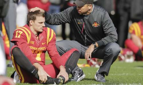 Iowa State's Matt Campbell maintains he's in Ames to stay
