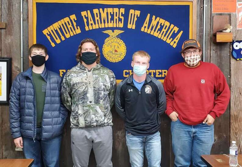 Fairfield FFA chapter participates in fall contests