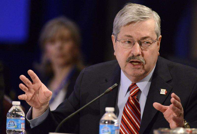 Branstad nixes funding for schools, universities, mental health facilities