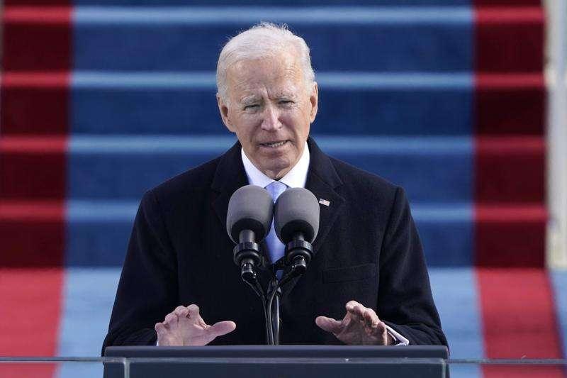 Joe Biden takes the helm as president: 'Democracy has prevailed'
