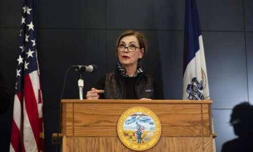 WATCH: Iowa Gov. Kim Reynolds' coronavirus news conference Tuesday, March…