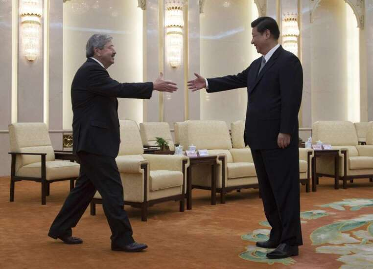 Branstad sticking by 'old friend' Chinese president