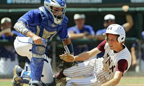 Remsen St. Mary's topples North Linn in state baseball quarterfinals