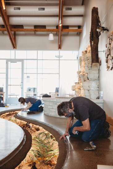 Channeling outdoors indoors: New exhibit offers close-up view of life in Indian Creek