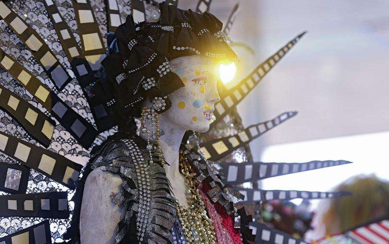 Machine Dazzle's elaborate costumes on display at Hancher