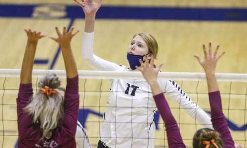 Iowa high school volleyball rankings: Gazette-area Super 10