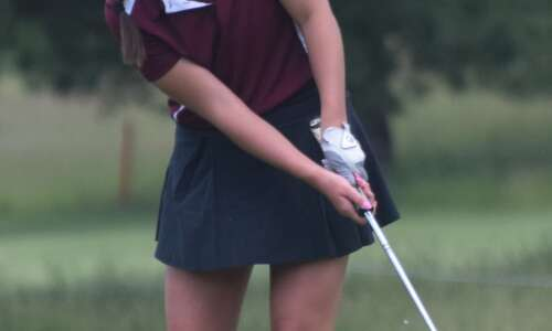 Mt. Pleasant's Liechty finishes 16th at girls state golf 3A…