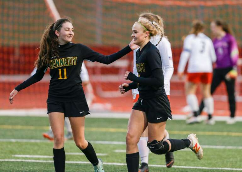 Photos: Cedar Rapids Prairie vs. Cedar Rapids Kennedy, Iowa high school girls' soccer