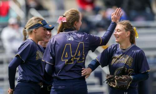 Mount Mercy softball shows heart in conference tournament win