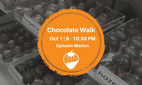 Chocolate Walk returns to Uptown Marion on Friday