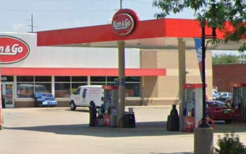 Man accused of trying to light gas on fire at Coralville Kum & Go