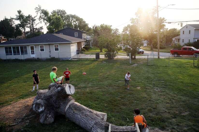 The derecho brought this Cedar Rapids neighborhood closer together