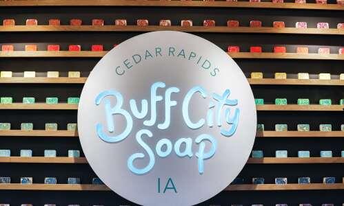 Buff City Soap opens in Cedar Rapids