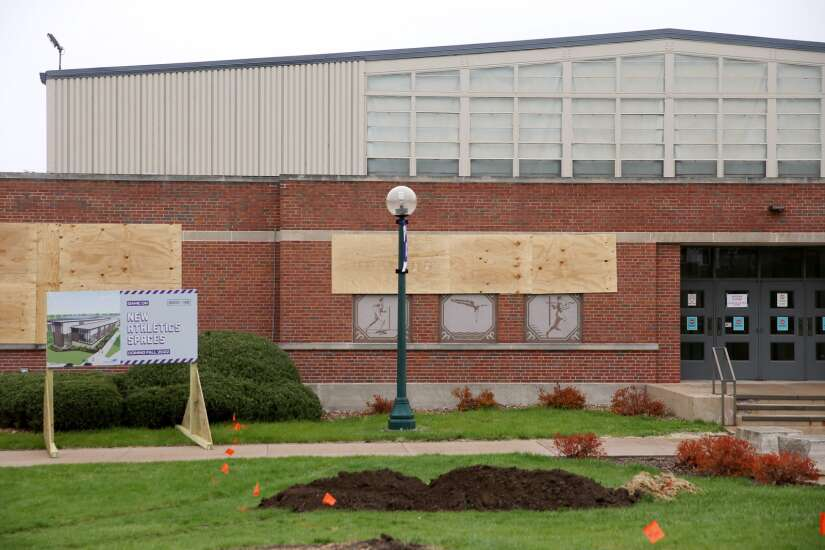 Cornell College begins $19-million project to improve, expand Small Sport Center