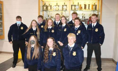 Mt. Pleasant FFA Chapter celebrates 2 years