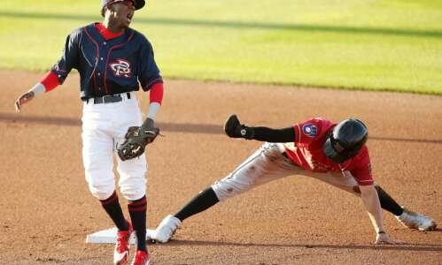 Cedar Rapids Kernels continue to play through a constantly rotating…