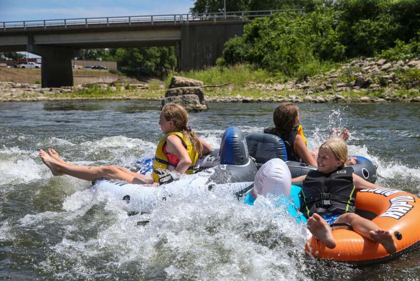 Photos: A sunny afternoon at the Manchester Whitewater Park