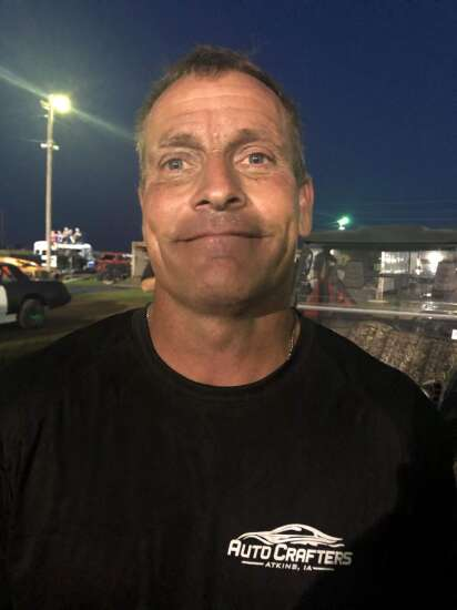 Atkins driver Darrick Knutsen inspired by the fight family and friends show