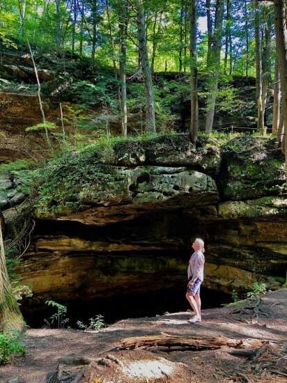 Explore the Hocking Hills, the foothills to the Appalachia Mountains in Ohio