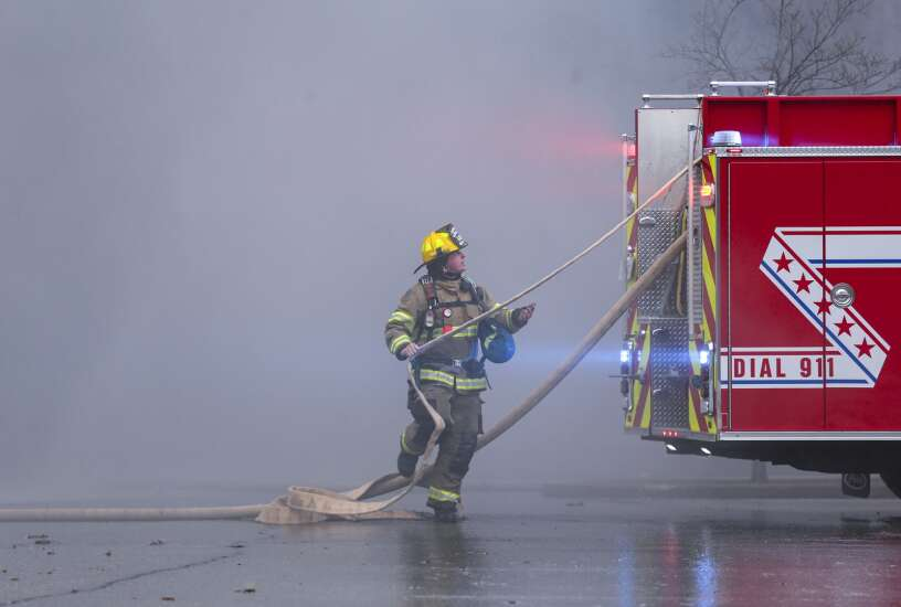 Fire destroys UnityPoint office building in Cedar Rapids
