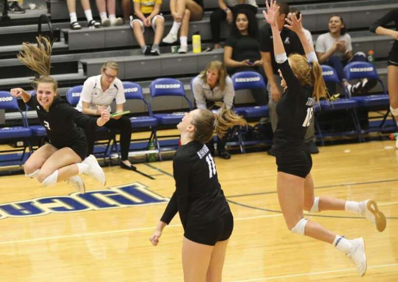 Kirkwood volleyball victorious in season finale