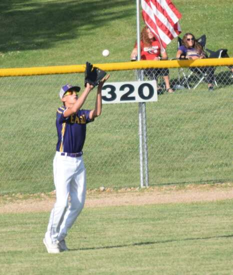 Clarahan pitches Keota to win