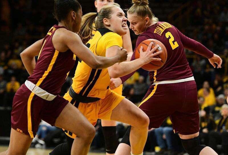 Iowa women's basketball wraps up regular season at Rutgers