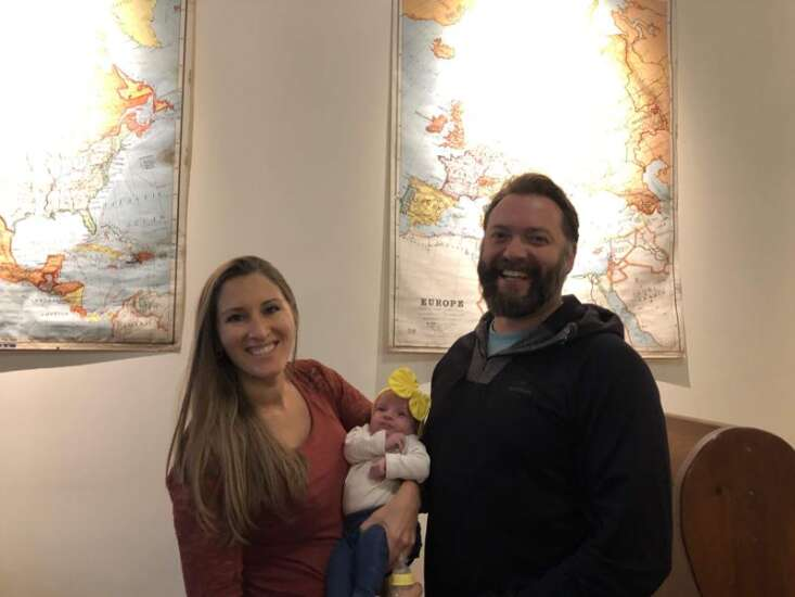 50 states in 42 days: Baby Liberty becomes the youngest to travel the U.S.