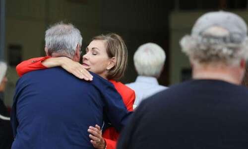 Iowa Gov. Kim Reynolds won't budge on masks, even as…