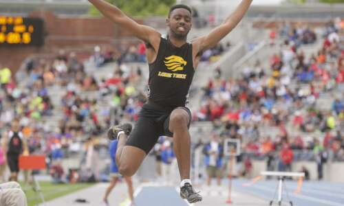 Lone Tree's Jovonte Squiers nabs second straight state long jump…