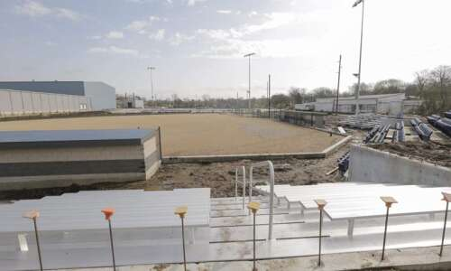 Mount Mercy athletic complex starting to take shape
