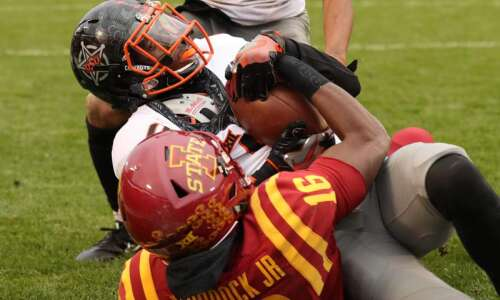 Iowa State football falls to Oklahoma State in game of…