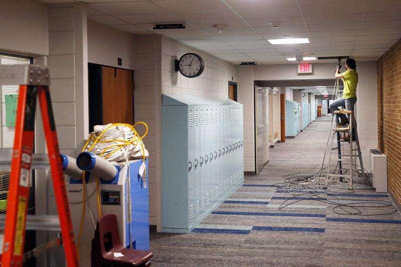 Coronavirus hasn't held back College Community schools' construction plans