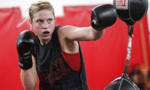 Boxing national title lands C.R.'s Jacquie Cuddeback on U.S. women's…