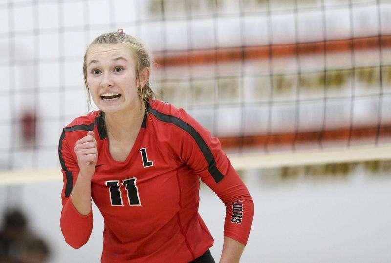 Photos: Lisbon vs. Springville, Iowa high school volleyball