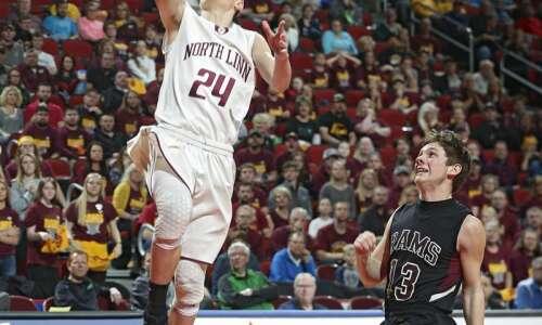 Ryan Miller, Jake Hilmer give North Linn pair of 1,000-point…