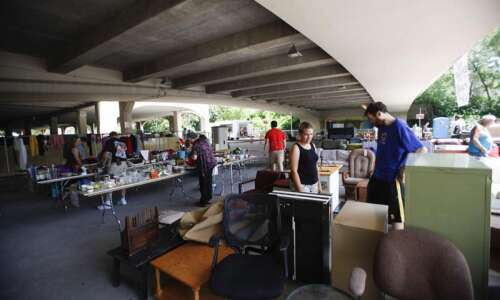 Ready to Rummage in that Ramp: Annual Iowa City waste-reduction…