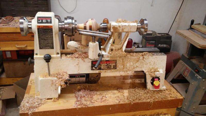 A whirl of a hobby: North Liberty couple produces turned wood ornaments