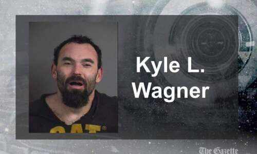 'Extremely high' North Liberty man arrested after reporting captive in…