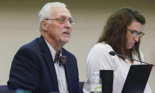 'A voice for students' Cedar Rapids school board member Gary…