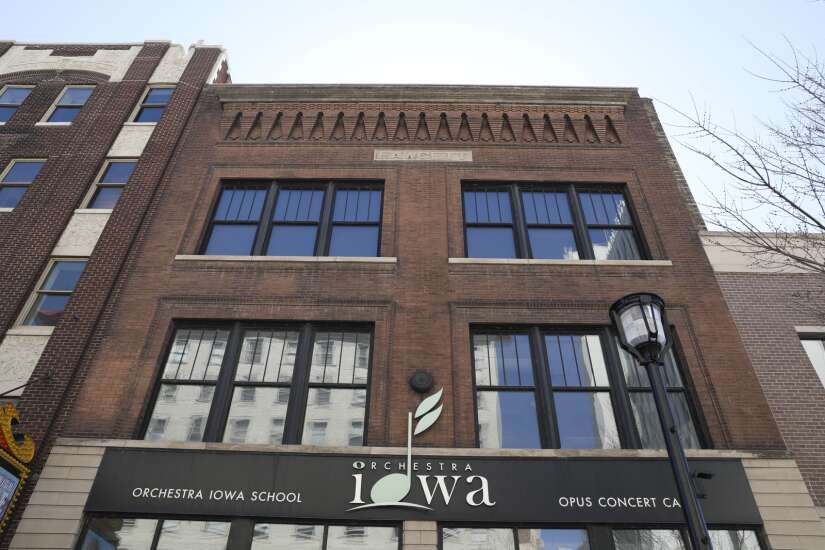 Donors spring into action to replace Orchestra Iowa music ruined by derecho damage