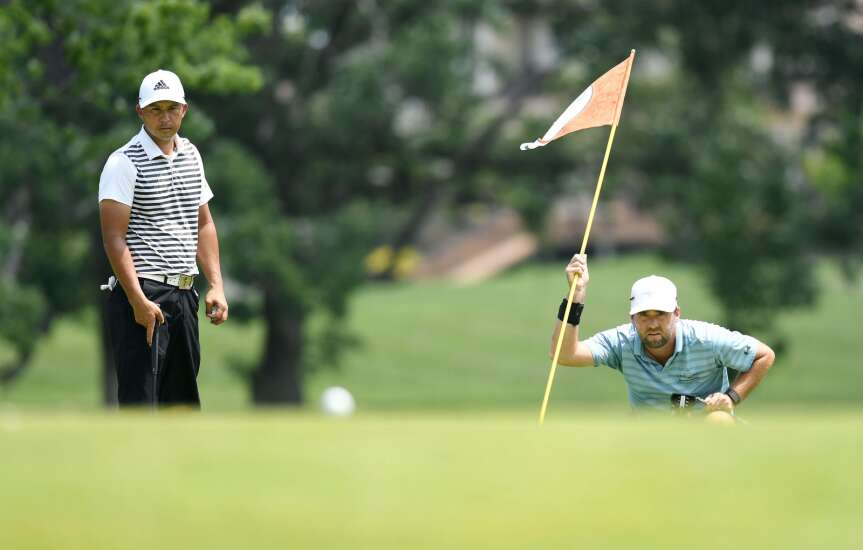 Seth Fair repeats at Hunters Ridge for Greater Cedar Rapids Open title
