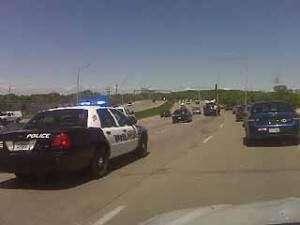 Accident stacks up Interstate 380 northbound traffic
