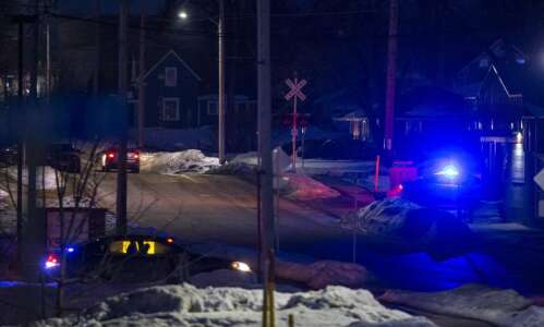 North Liberty standoff with police 'peacefully resolved'