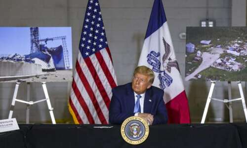Mayors press Trump to act on aid for homeowners