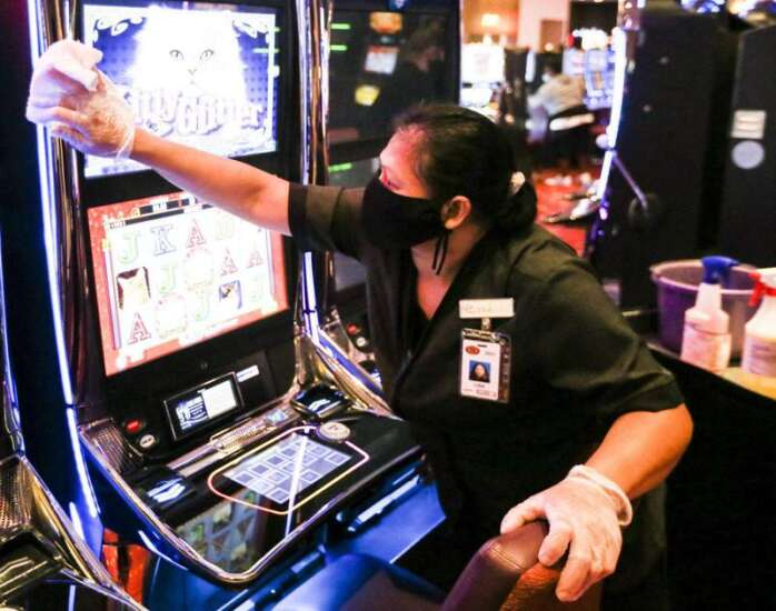These are the face mask policies at Iowa casinos