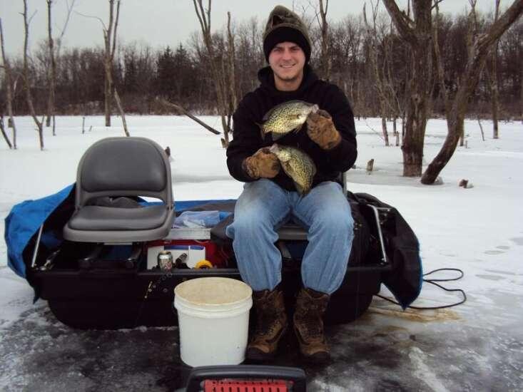 Ice fishing has come a long way