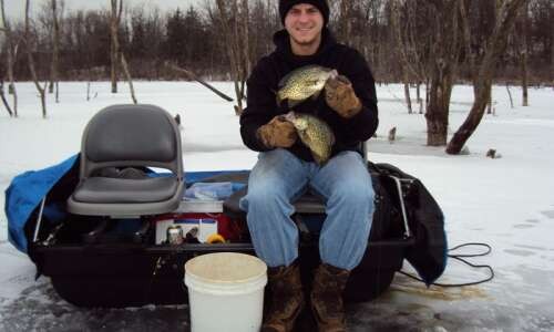Ice fishing has come a long way